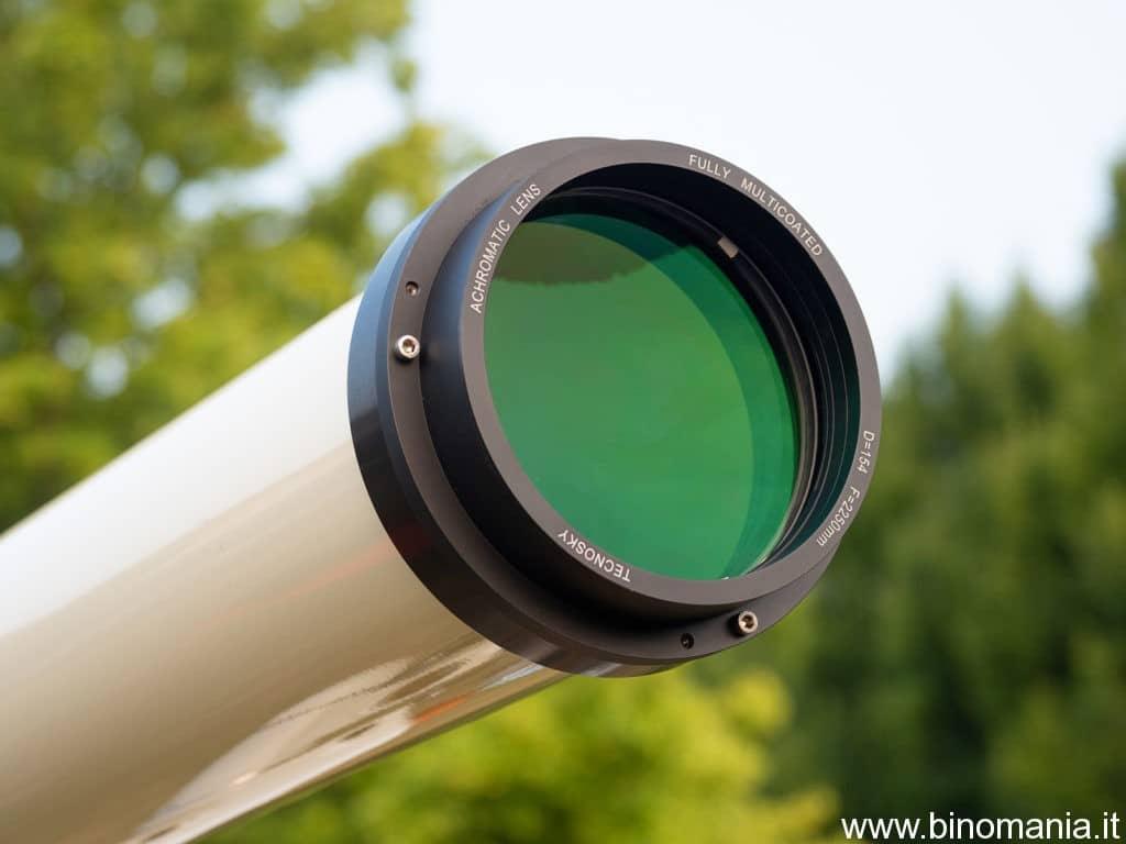 Il doppietto acromatico 154 F/15 della Barride Optics