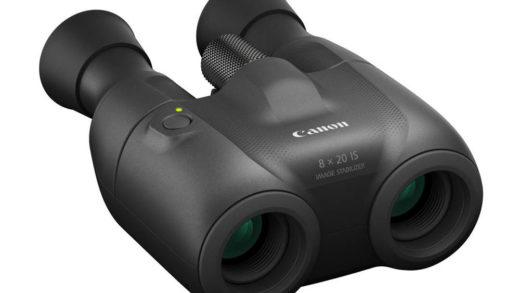 Nuovi binocoli stabilizzati Canon 8×20 IS e 10×20 IS