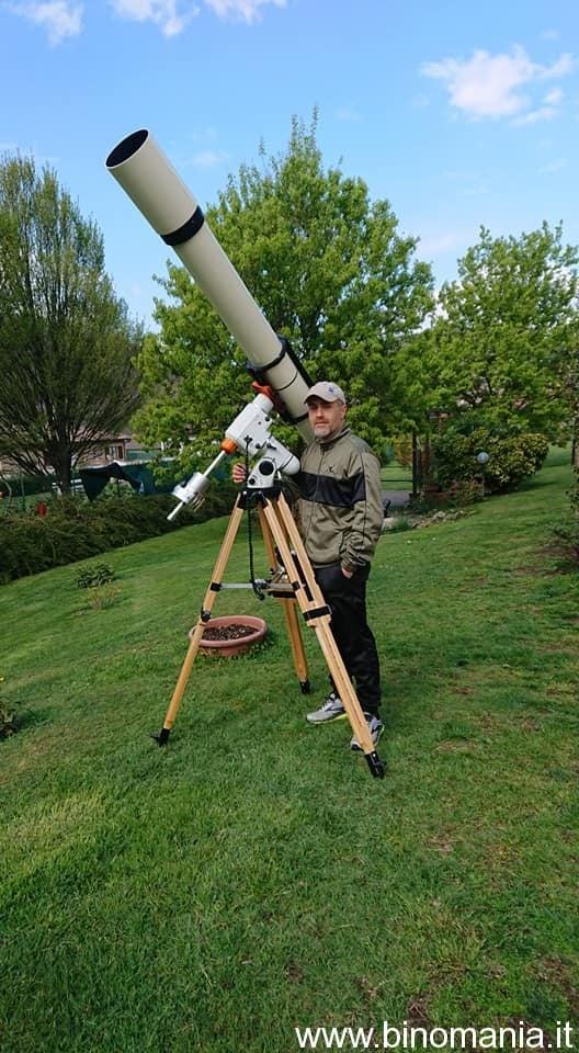 Certo, non è uno spotting scope, ma dovete ammettere che ha il suo fascino...