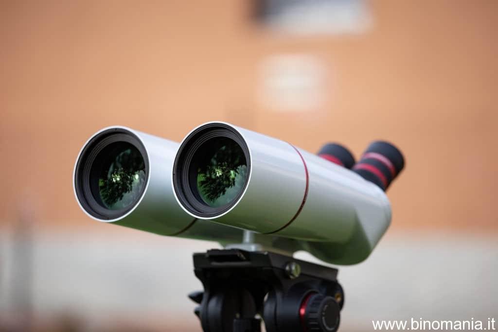 Gli obiettivi a bassa dispersione da  70 mm di diametro