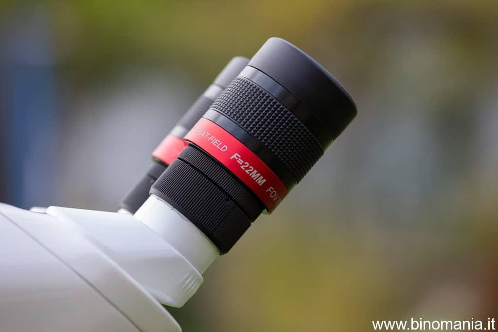 I nuovissimi oculari Oberwerk, specificatamente progettati per la serie BT XL-ED
