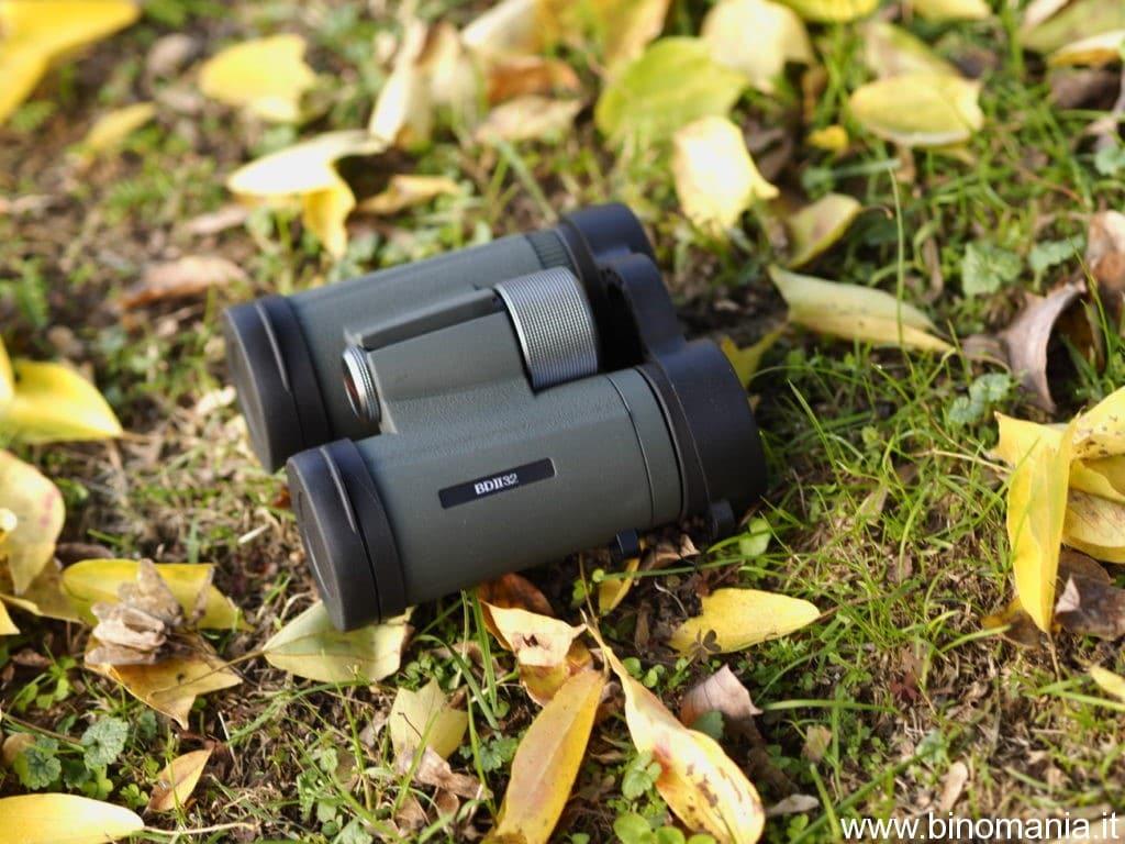 Il Kowa BD II 10x32 XD è perfetto per chi ama avere alti ingrandimenti in poco ingombro