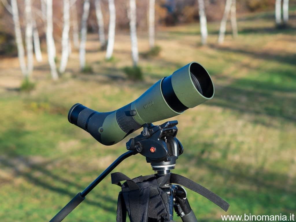 Un bel primo piano sul telescopio Meopta Meopro 80 HD