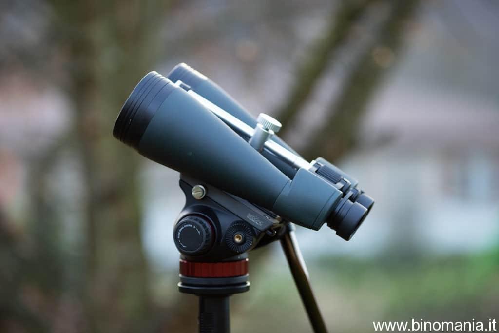 E' un binocolo compatto ed economico. Rispetto ai classici 25x100 astronomimi, l'ho preferito nell'uso diurno, per la migliore correzione dell'aberrazione cromatica
