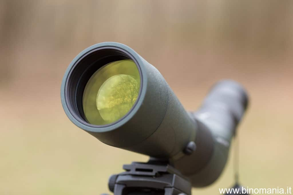 L'obiettivo apocromatico da 80 mm di diametro