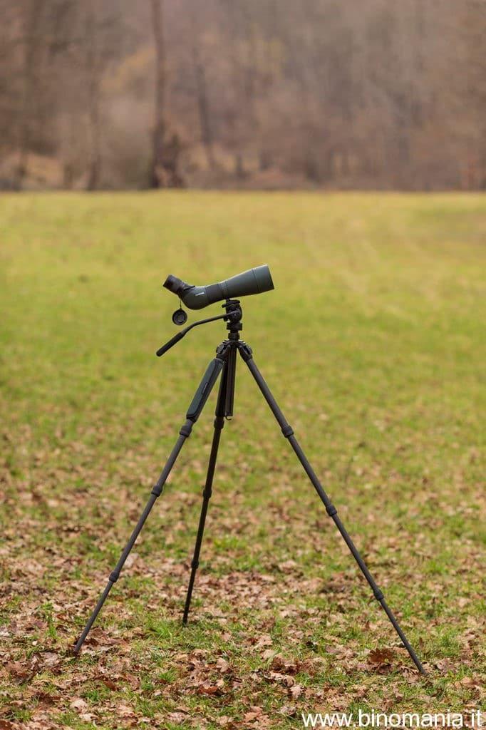 Telescopio e cavalletto non superano i quattro chilogrammi