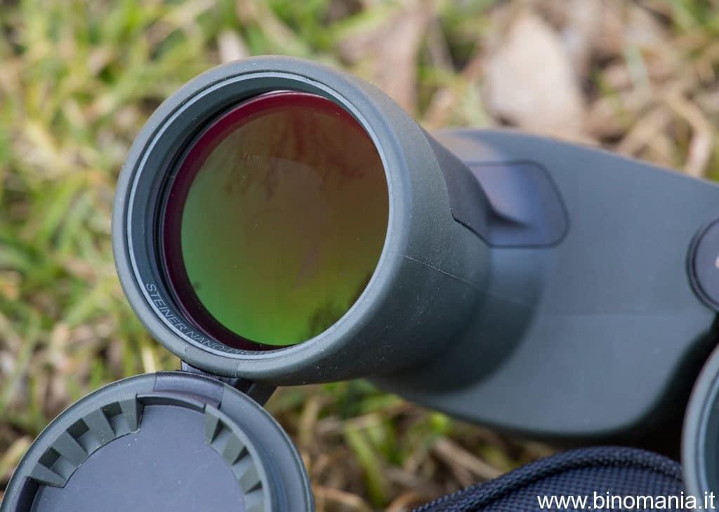 Anche grazie agli obiettivi da 56 mm di diametro, questo binocolo si è dimostrato molto luminoso