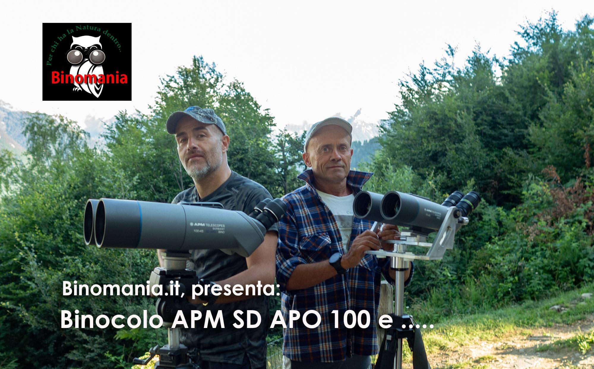 Binocolo APM 100 SD APO e…
