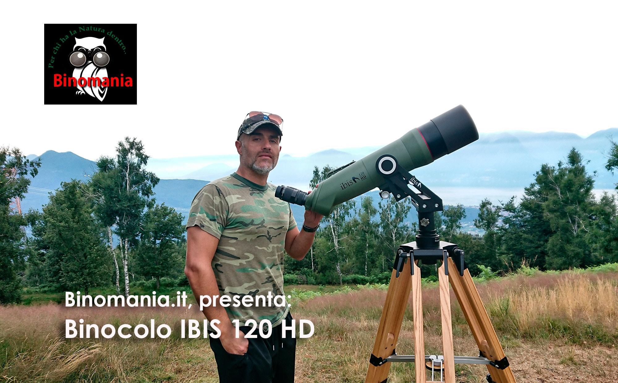 Binocolo IBIS 120 HD, videorecensione