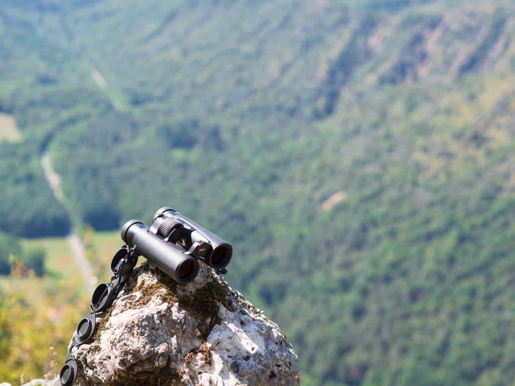 Uno scatto effettuato sul Monte Poncione durante un test sul campo