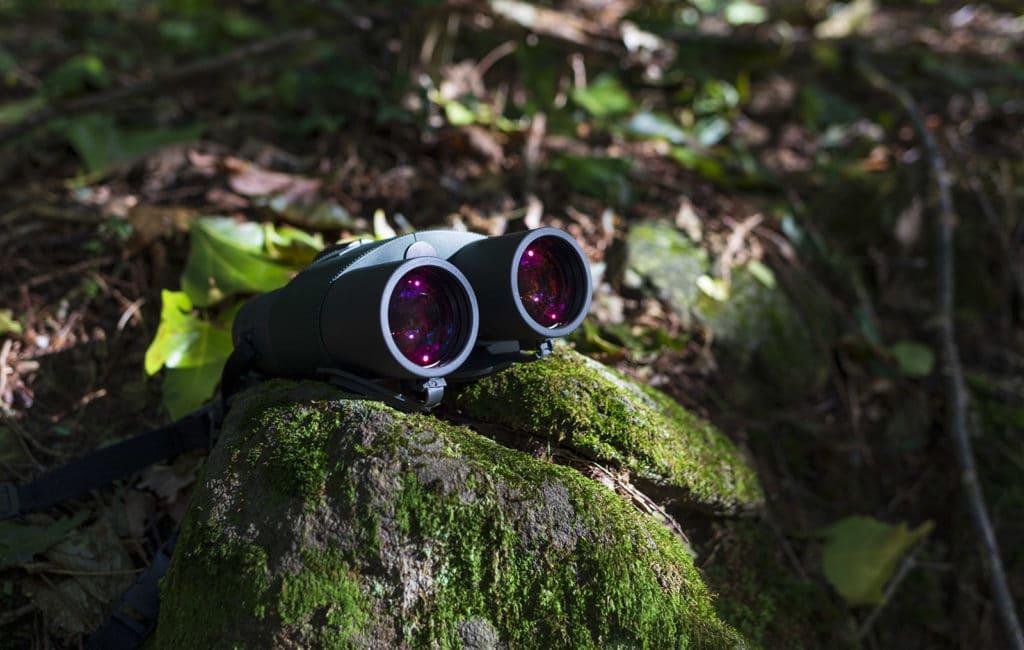 In questa foto si vedono gli obiettivi da 45 mm di diametro, dotati di vetro HD