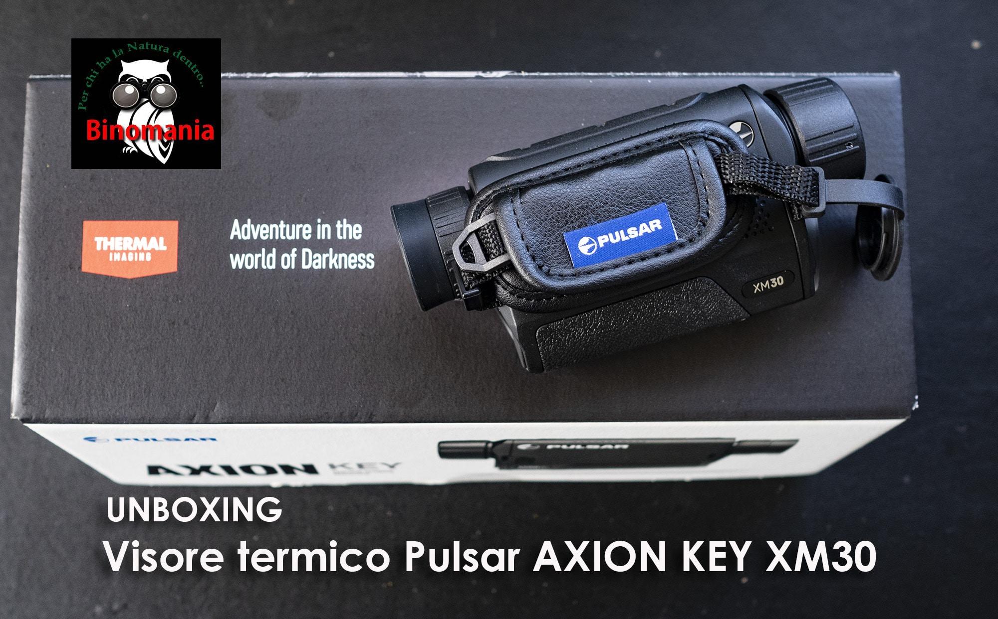 Visore termico Pulsar Axion Key XM30: prime impressioni