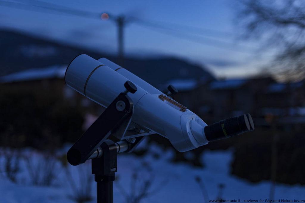 In attesa di osservare la Luna con il binocolo Oberwerk BT-100 XL SD
