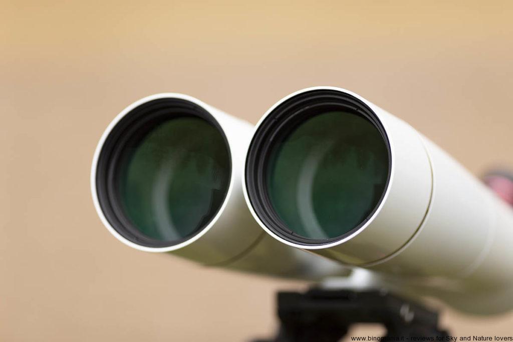 gli obiettivi del binocolo Oberwerk BT-100 XL SD