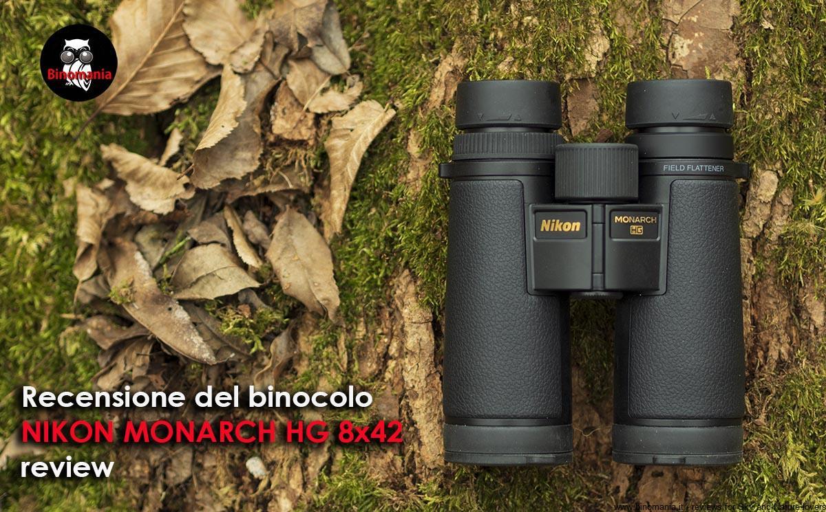 Recensione e video del binocolo Nikon Monarch HG 8×42