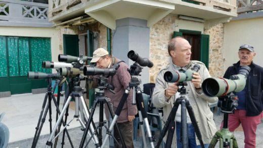 Mini reportage: i nuovi spotting scopes Nikon Monarch HG al pranzo del Team di Binomania dell'8 di Ottobre 2016